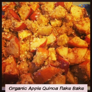 Simple Apple Quinoa Bake