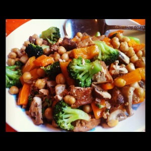 Tofu & Veggies