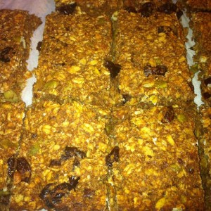 Date Cranberry bars