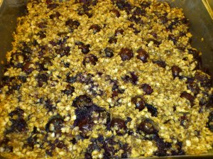 Healthy & simple blueberry & quinoa cake!