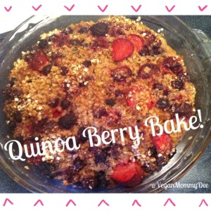 Healthy Quinoa Berry Bake!