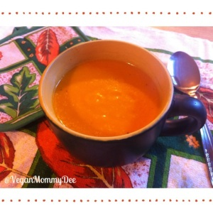 Healthy Squash & Bell Pepper Soup!!!