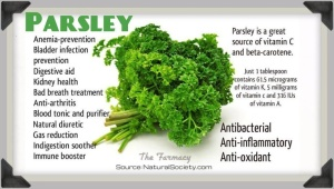 Health Benefits Of Parsley!