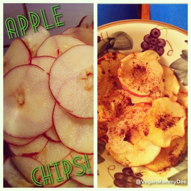 Healthy Apple Chips!