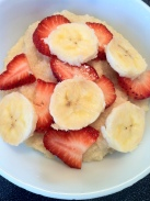 Hot Breakfast cereal with fruit