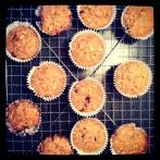 Oat & Banana Muffins